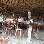 全木质天然餐桌