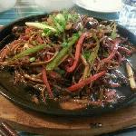 铁板茶树菇