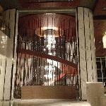 酒店的旋转楼梯