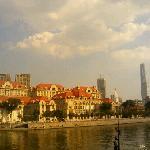 文化广场看海河