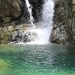 三叠泉下水池