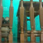 竹制茶台展品