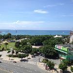 酒店阳台海景