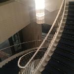 酒店大堂楼梯
