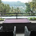 酒店客房的阳台