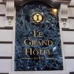 巴黎洲际酒店招牌