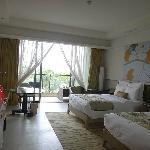 宽敞的客房
