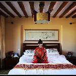 观景套房卧室