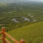 俯瞰根河湿地