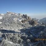 冬季的黄山