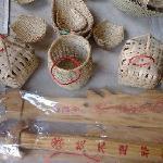 扬美古镇那里卖的手工的竹篓