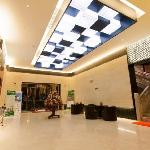 Photo de Green Tree Inn Shanghai Yingao West Road Subway Station
