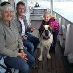 船上碰到的可爱一家人