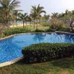 海景别墅私家游泳