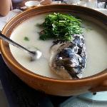 千岛湖鱼味馆(千岛湖店) ,鱼头很鲜美。