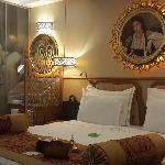 与酒店图片完全一致的房间