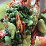 绿胡椒龙虾