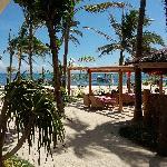 酒店的沙滩