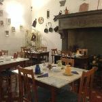 意大利乡村风格的餐厅