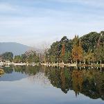 滇池公园的风景,水清景美