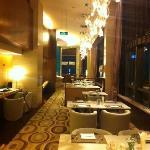 行政酒廊感觉很安静很舒适。