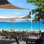 海滩, 室外酒吧