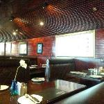 餐厅的吸烟区