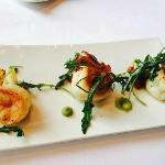 牛排套餐-龙虾沙拉