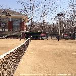 清华大学网球场