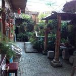 驴行驿站庭院