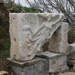 土耳其伊兹密尔以弗所古城遗址中的胜利女神耐克雕像