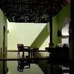 酒店spa休息区