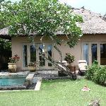 入住Ayana的Villa,人品爆发,被安排到了最前排中间的的别墅