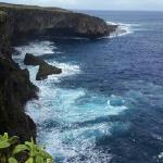 塞班鸟岛,一片美丽的海!