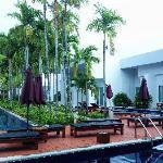 泳池房景观