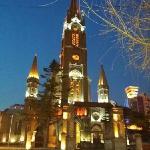 夜幕下的教堂