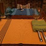 饭店的餐布