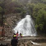 翠华山瀑布