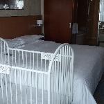 房间和婴儿床