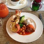 lobster brunch