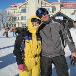 很多国际友人也在这里滑雪