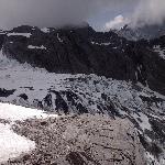 玉龙雪山冰川