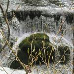 二道沟里的小瀑布