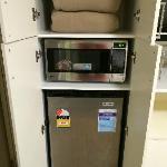 微波炉和冰箱