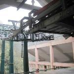 梵净山景区的缆车索道