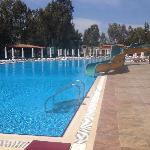 酒店游泳池可以,别的地方就那样