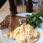 炒鸡蛋,早餐