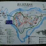 西双版纳雨林谷导游图