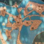 翠湖的游览导游图
