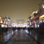 前门大街夜景